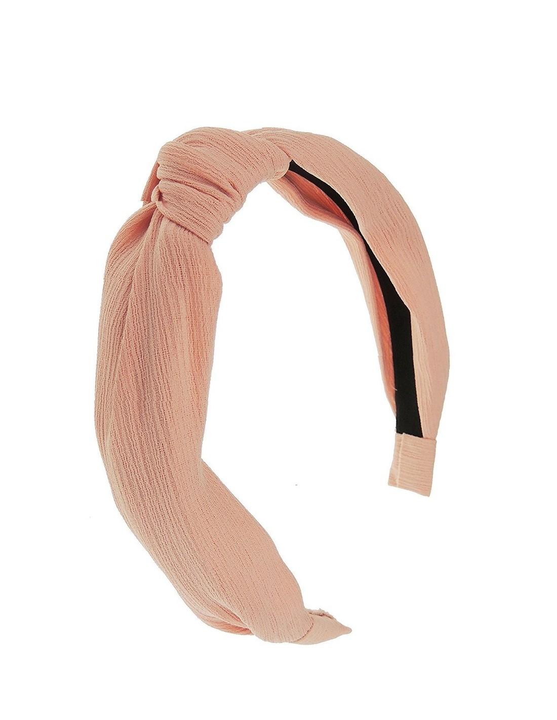 fábrica fuego arbusto  Diadema tela rosa palo diseñada por Elenitos  INVITADISIMA