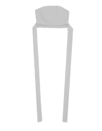 Crop top de escote recto y lazo a la cintura
