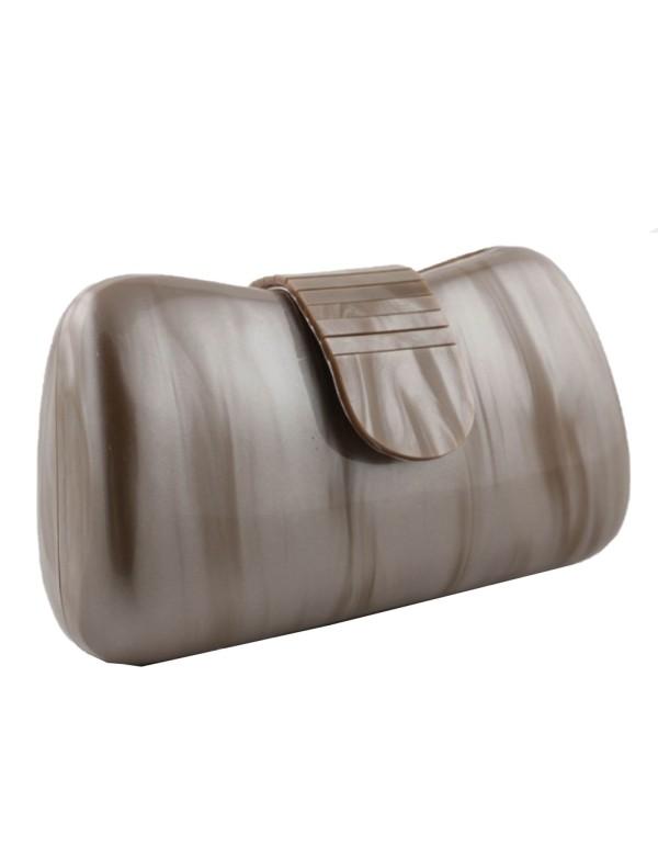 Dark Mole Pearly Party Bag Lauren Lynn London Accessories - 1