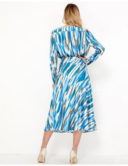 Printed midi skirt - Lara TEZ Originals - 1