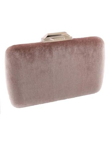 Rectangular pink velvet...