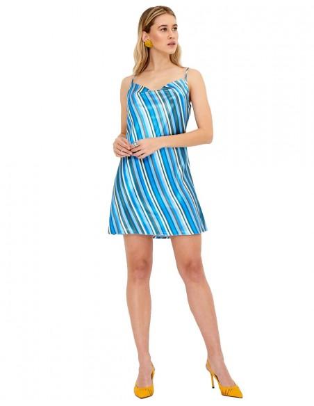 Vestido minifaldero con estampado - Sia