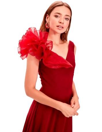 Maxi Dress with shoulder...