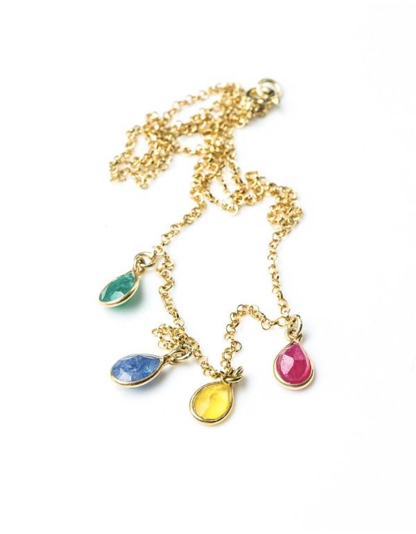 Collar arcoiris de Eme Jewels en INVITADISIMA. Para ser la invitada ideal