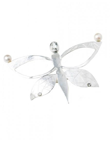 Tocado mariposa de Eme Jewels para INVITADISIMA