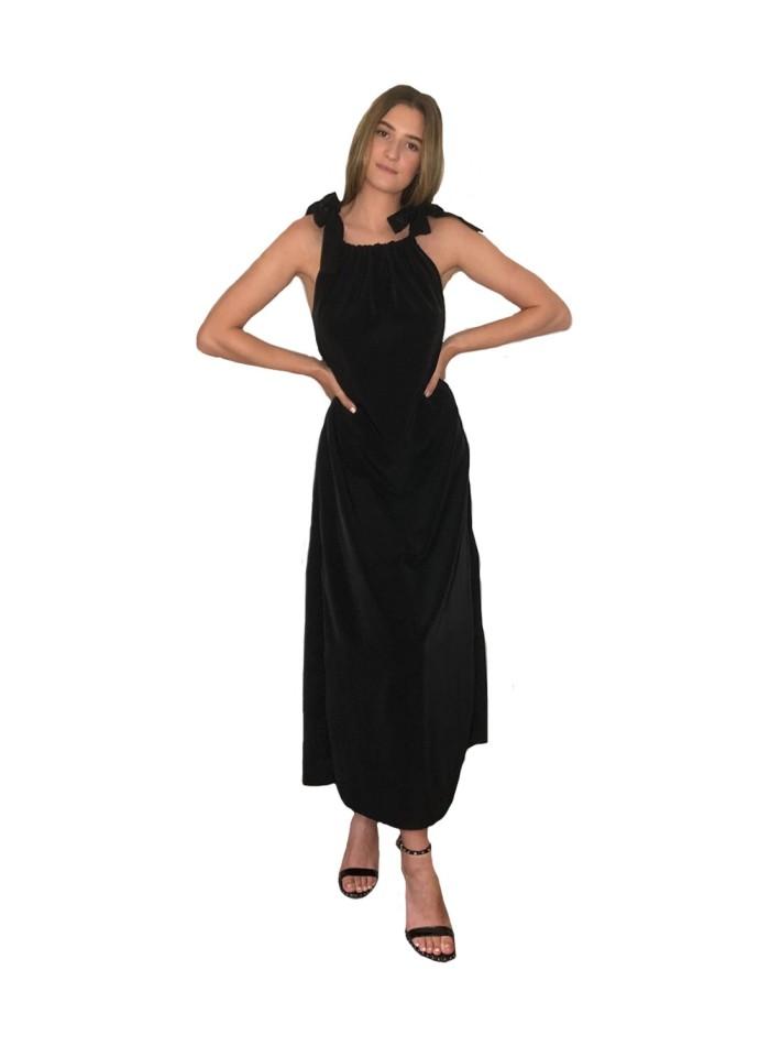 CoCo VeVe black coctel dress for INVITADISIMA