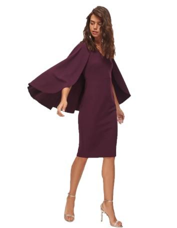 Garnet cocktail dress with...