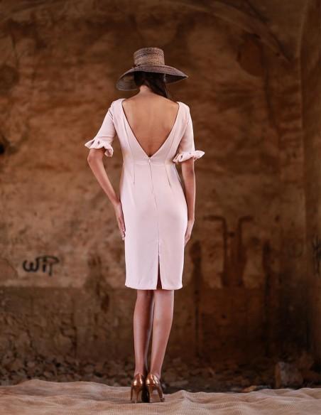 Short dress summer wedding by Meryfor at INVITADISIMA