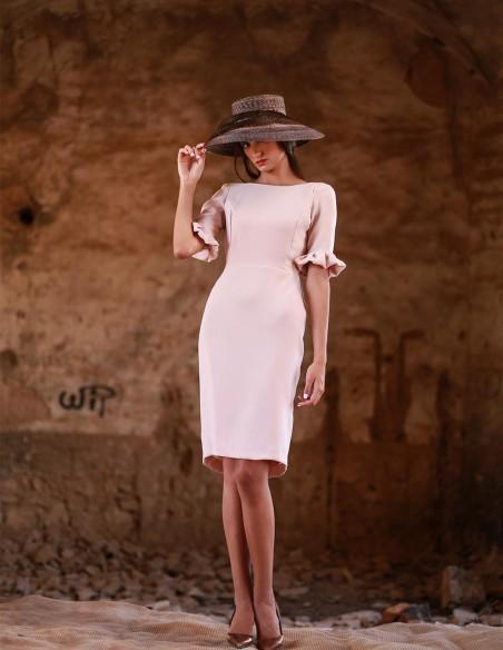 Short dress spring wedding by Meryfor at INVITADISIMA