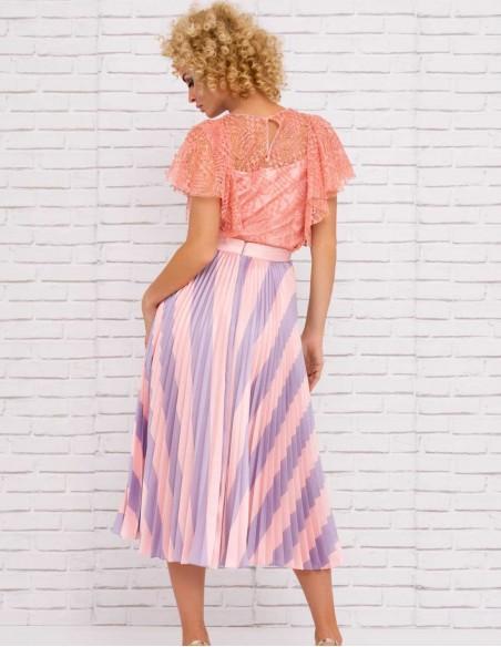 Nuribel Collection print skirt