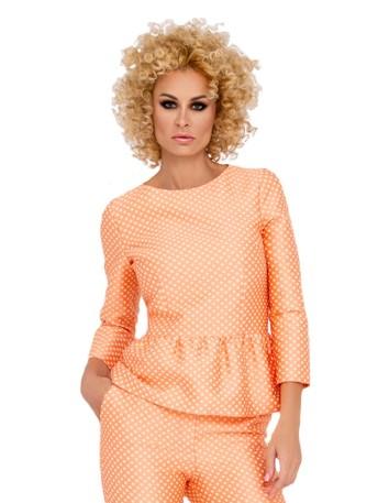 Polka dot print blouse GUEST
