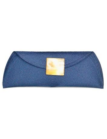 Raffia handbag with...
