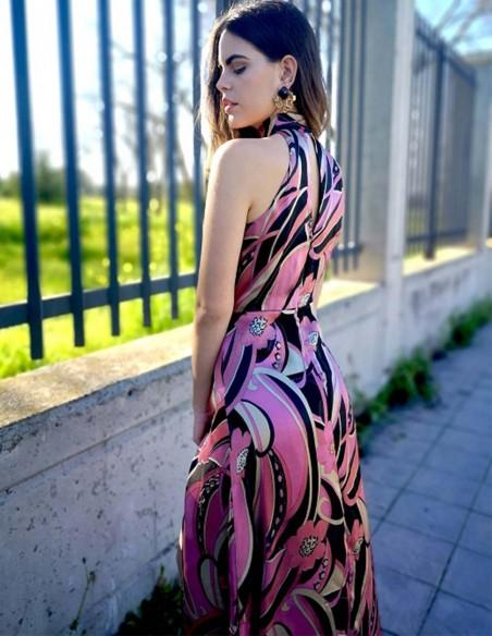 Vestido de fiesta largo de Moz Spain