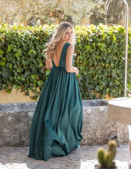 maxi party wedding dress green maui prom