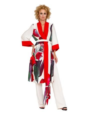 Chaqueta de fiesta con diseño estilo kimono en INVITADISIMA