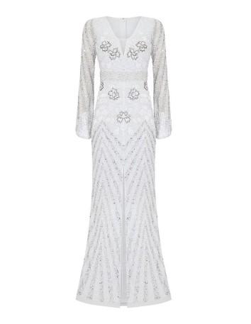 Vestido de novia manga larga INVITADISIMA