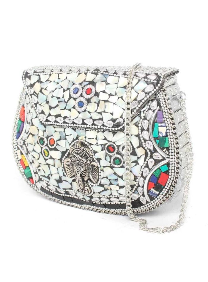Indian Chest Bag Lauren Lynn London Accessories - 2