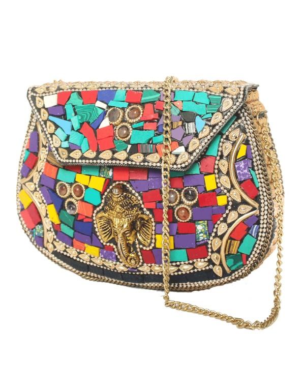 Bolso Cofre india Lauren Lynn London Accessories - 3