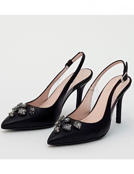Stone dress salon shoe