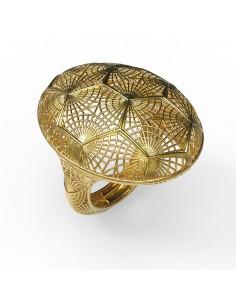 anillo oro y plata de Debona