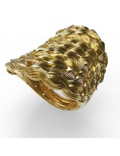 anillo de diseño oro y plata de Debona