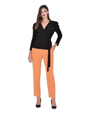 Straight cut guest suit trousers at INVITADISIMA