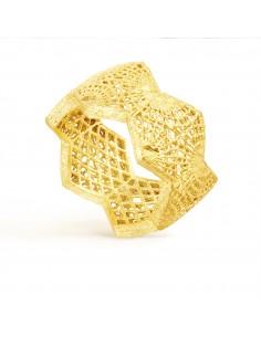anillo gaudi oro y plata de Debona