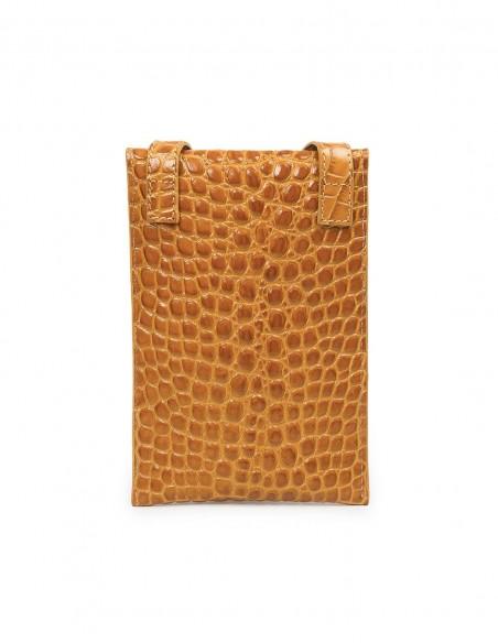 Mini leather bag by Leandra