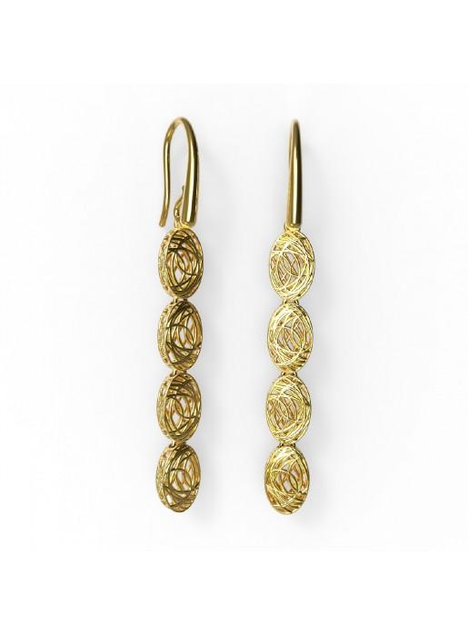 Pendientes de oro Alessandra de Debona