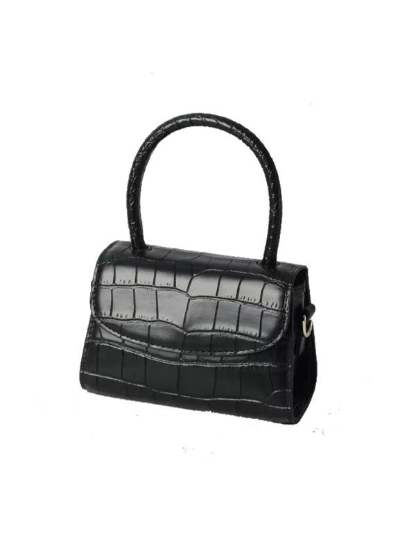 Mini leather handbag black Susana Kumar - 1