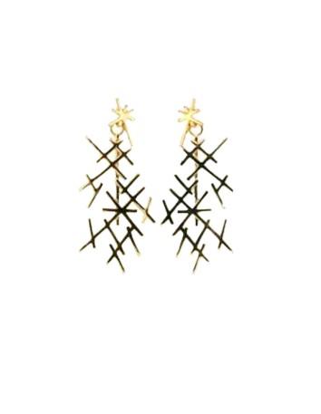 Gold New Lumen Earring COOLOOK - 1