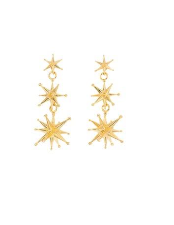 Cosmos interstellar earrings at INVITADISIMA