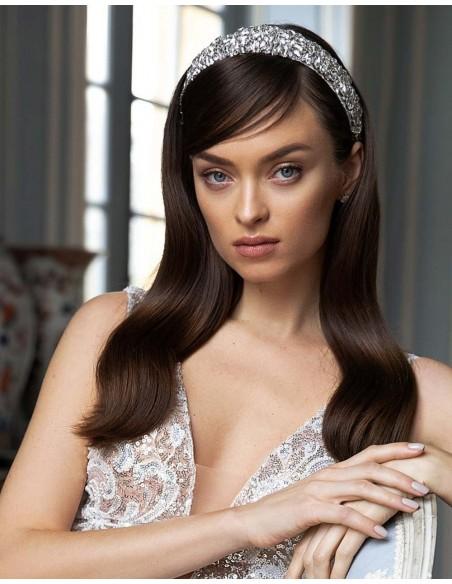 Bridal tiara with crystals-1