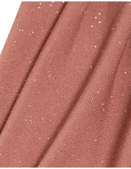 Evening dress with plunging V-neckline and slit Sarvin - 7