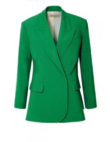 blazer in bright colour with oversized straight cut at INVITADISIMA