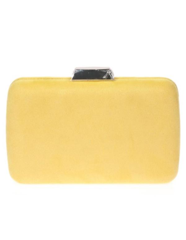 copy of nude clutch bag for wedding guest Lauren Lynn London Accessories - 1