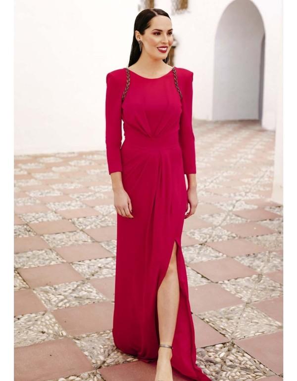 Vestido de punto con aplicación joya Victoria Victim - 1