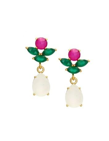 Guest earrings with teardrop ending Welowe - 1