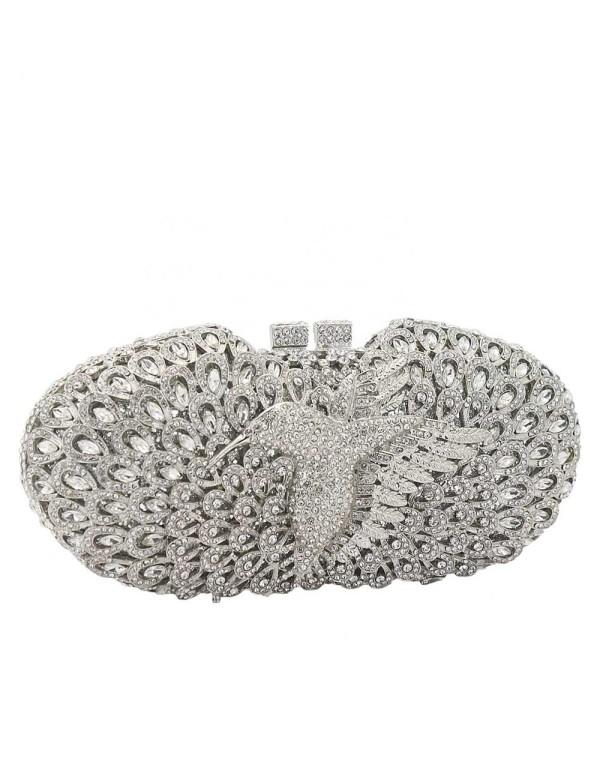 Bolso joya con pajarito y cristales de Swarovski Lauren Lynn London Accessories - 3
