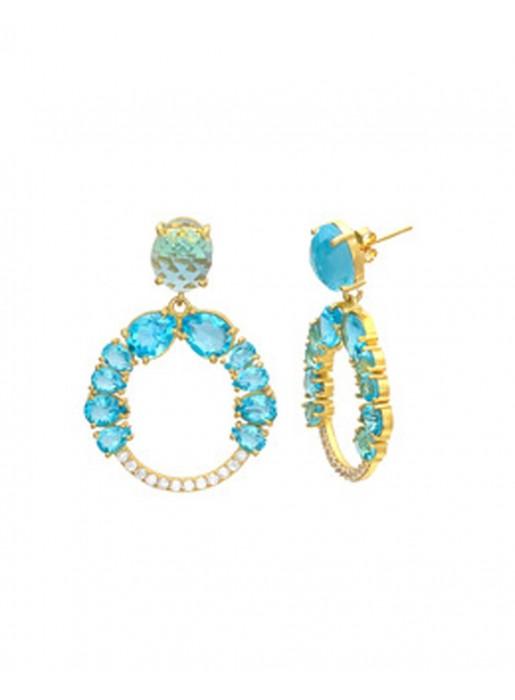 Hera Blue Earrings