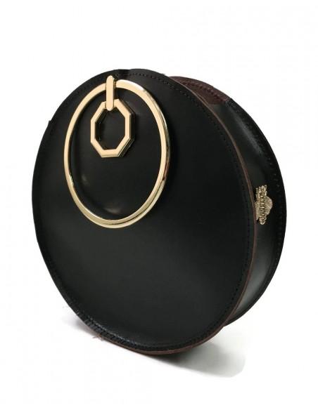 Bracelet bag Aureole in brown