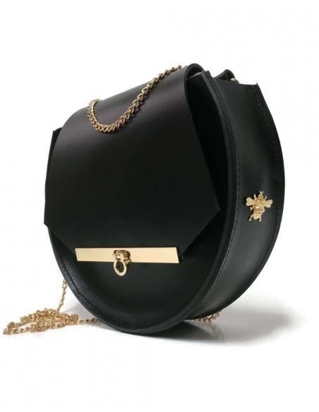 Beehive chain bag Loel mini black Angela Valentine Handbags - 2