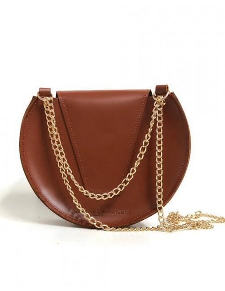 Bolso de cadena de abeja Loel mini camel Angela Valentine Handbags - 3