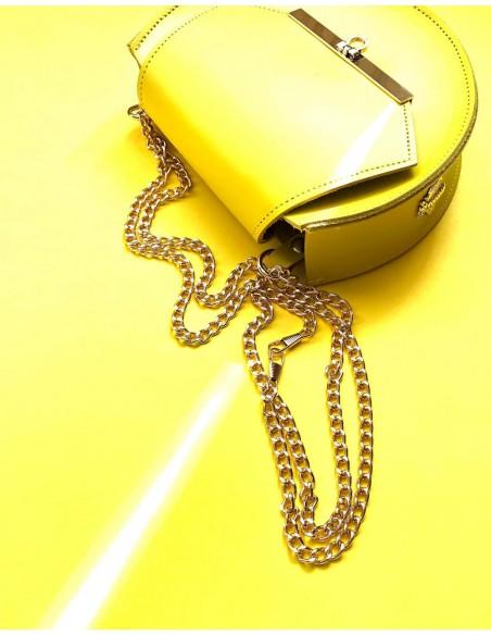 Beehive chain bag Loel  Yellow mini Angela Valentine Handbags - 2