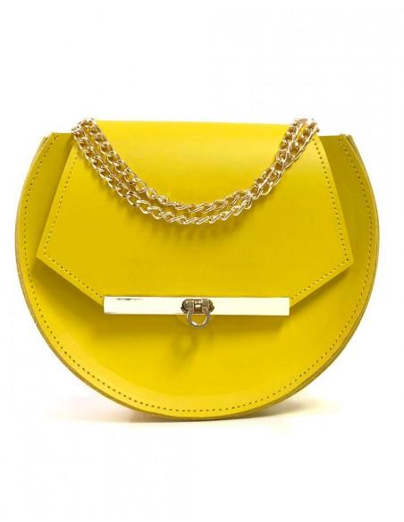Beehive chain bag Loel  Yellow mini Angela Valentine Handbags - 1