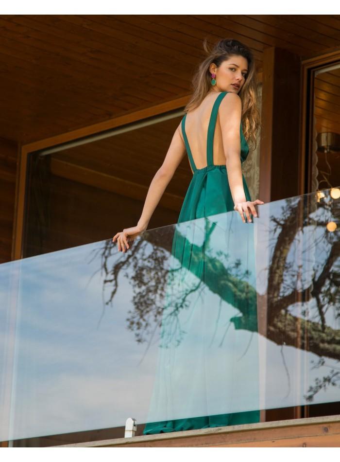 Vestidos largos de fiesta verdes