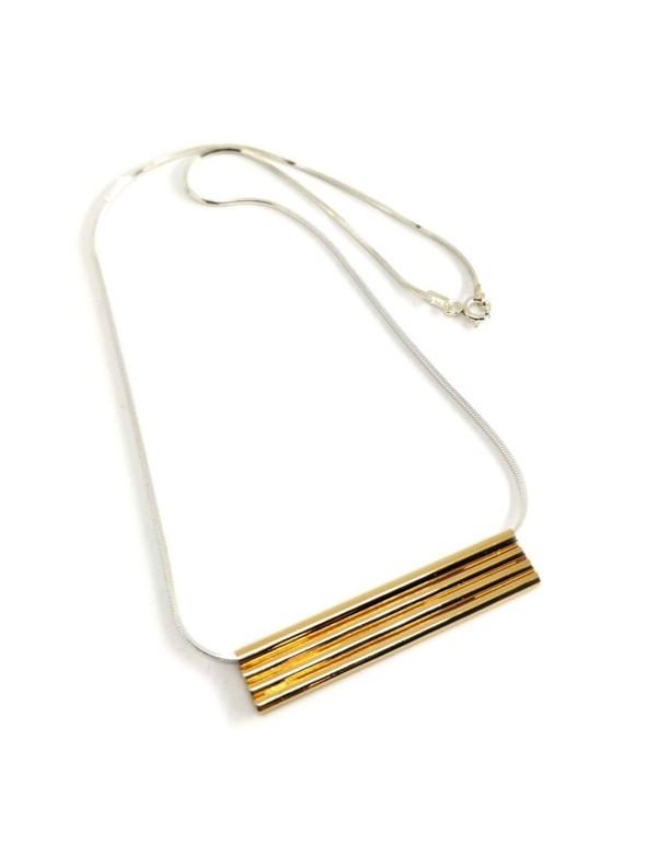 Collar anma en oro y plata para invitadas a bodas, fiestas y eventos de Joliet para INVITADISIMA.