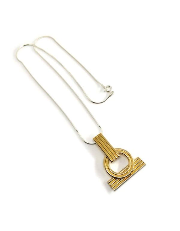 Collar Sanoa en oro y plata para invitadas a bodas, fiestas y eventos de Joliet Joyas para INVITADISIMA.