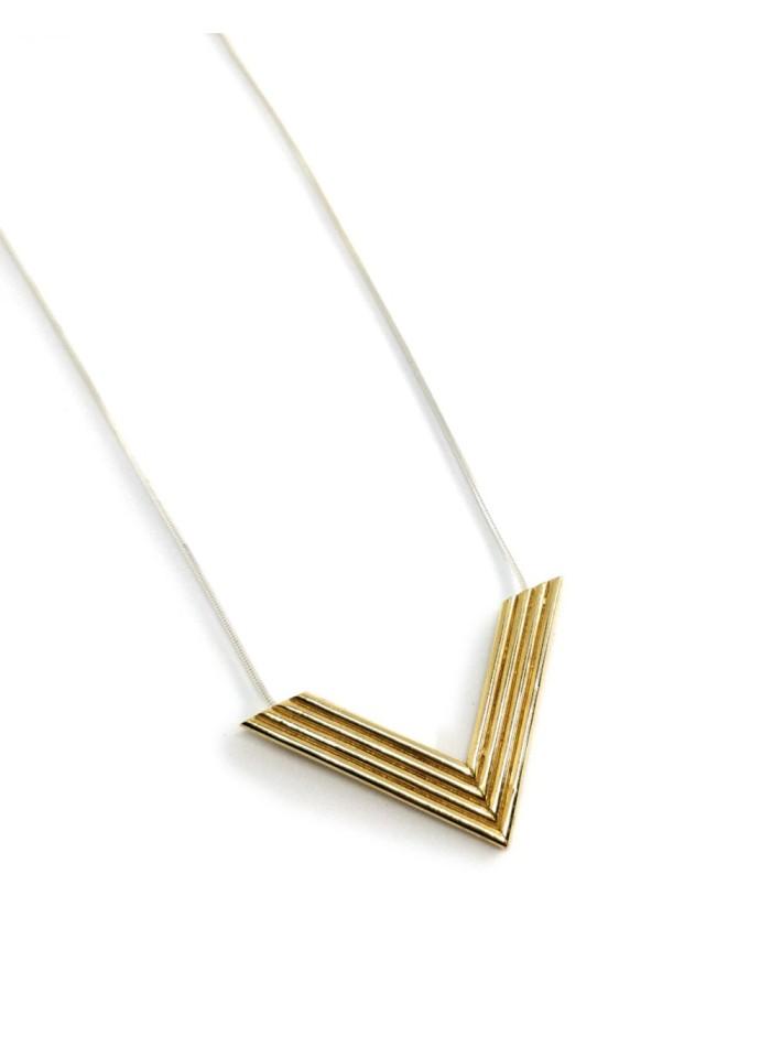 Collar Lere en oro y plata para invitadas perfectas a bodas, fiestas y eventos de Joliet Joyas para INVITADISIMA.