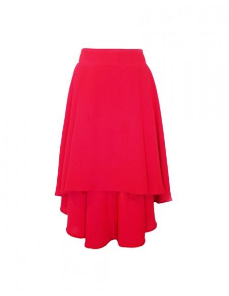 Falda de fiesta asimétrica por encima de la rodilla de Lauren Lynn London -  INVITADISIMA